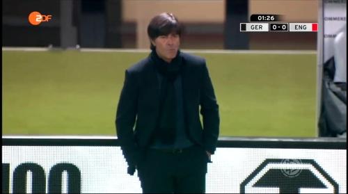 Joachim Löw – Deutschland v England – 1st half 5