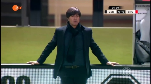 Joachim Löw – Deutschland v England – 1st half 6