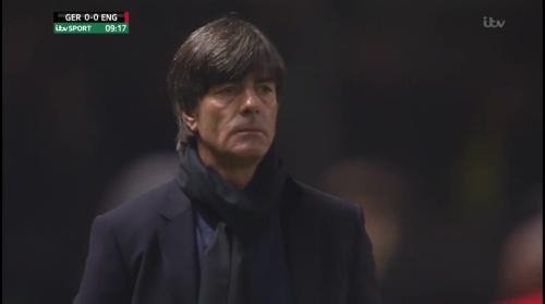 Joachim Löw – Deutschland v England – 1st half 7
