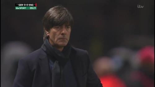 Joachim Löw – Deutschland v England – 1st half 8
