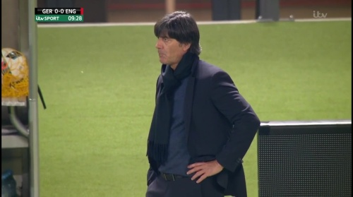 Joachim Löw – Deutschland v England – 1st half 9