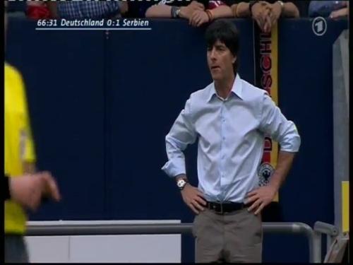 Joachim Löw – Germany v Serbia (2008) 12