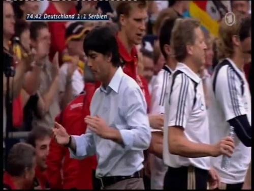 Joachim Löw – Germany v Serbia (2008) 13
