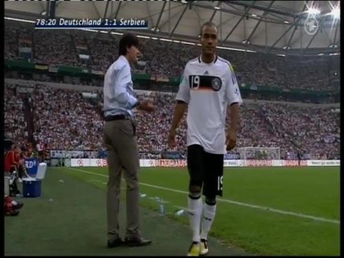 Joachim Löw – Germany v Serbia (2008) 15