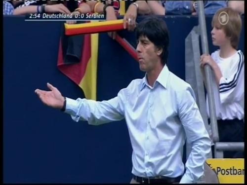Joachim Löw – Germany v Serbia (2008) 2