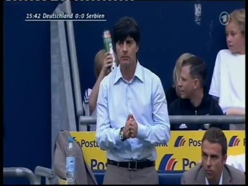 Joachim Löw – Germany v Serbia (2008) 3