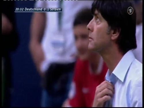 Joachim Löw – Germany v Serbia (2008) 4