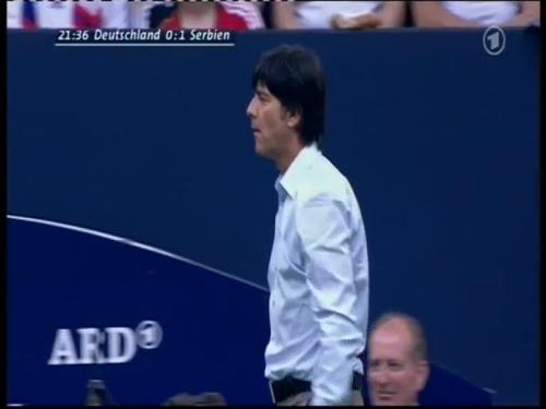 Joachim Löw – Germany v Serbia (2008) 6