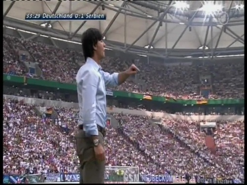 Joachim Löw – Germany v Serbia (2008) 7