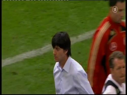 Joachim Löw – Germany v Serbia (2008) 8