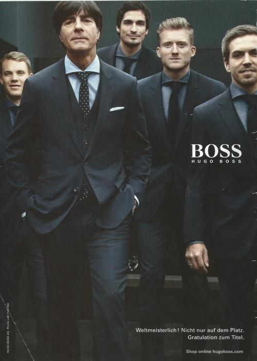 Joachim Löw – Hugo Boss ad