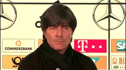 Joachim Löw – PK DEU-ITA 3