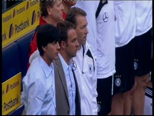 Joachim Löw & Hansi Flick – Germany v Serbia (2008) 1