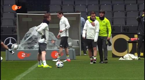 Joachim Löw & Mario Götze – heute sport - 25-03-16
