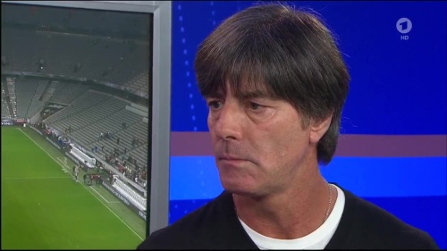 Joachim Löw - post-match interview – Deutschland v Italien 10