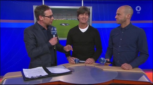 Joachim Löw - post-match interview – Deutschland v Italien 13