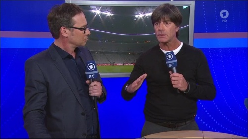 Joachim Löw - post-match interview – Deutschland v Italien 6