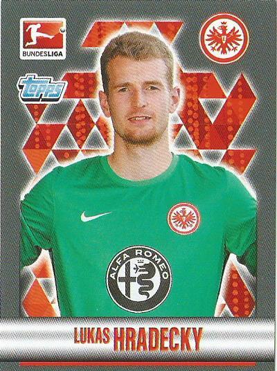 Lukas Hradecky - Eintracht Frankfurt – Bundesliga 2015-16 stick