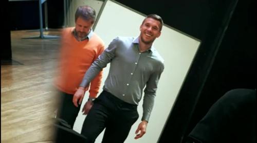 Lukas Podolski - Tag zwei in Berlin