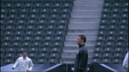 Manuel Neuer - Abschlusstraining in Berlin 1