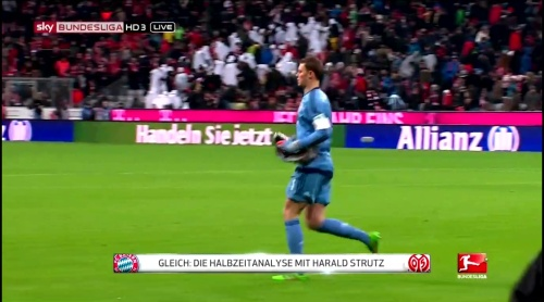 Manuel Neuer – Bayern München v Mainz 14