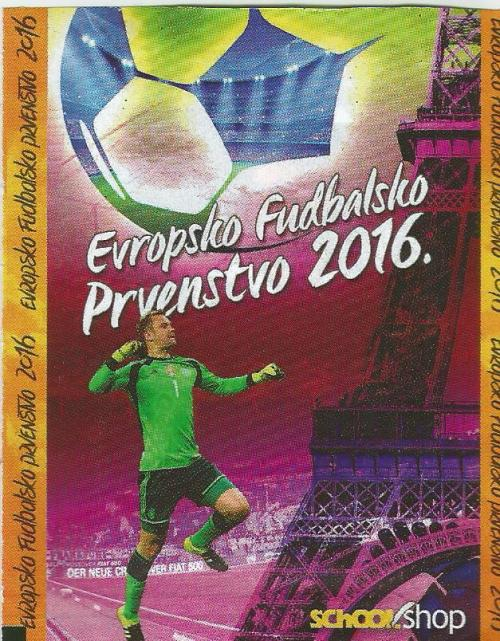 Manuel Neuer - Euro 2016 Schoolshop sticker packet