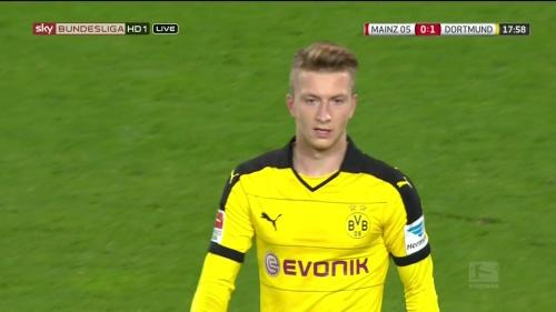 Marco Reus – Mainz v Dortmund 1