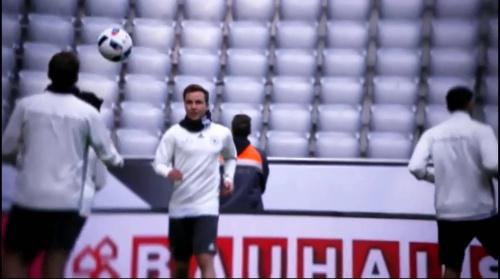 Mario Götze - Abschlusstraining in München 1