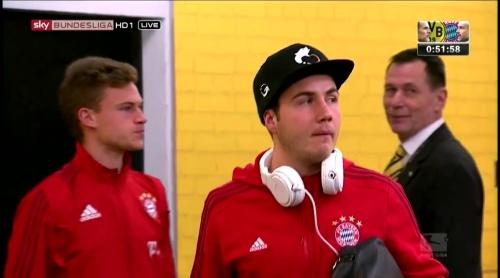 Mario Götze – Dortmund v Bayern