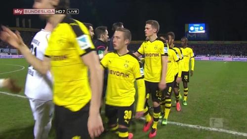 Matthias Ginter - Darmstadt v Dortmund 2