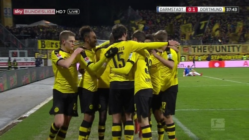 Matthias Ginter - Darmstadt v Dortmund 3