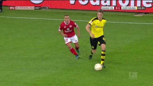 Matthias Ginter – Mainz v Dortmund 11