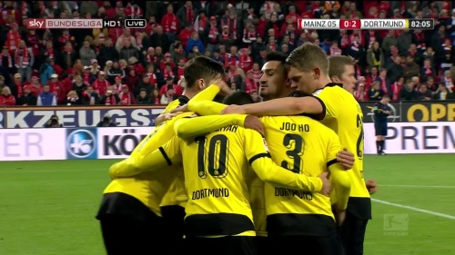 Matthias Ginter – Mainz v Dortmund 12