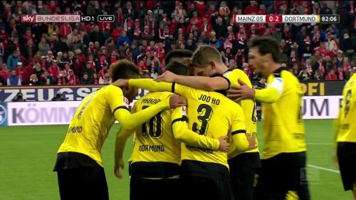 Matthias Ginter – Mainz v Dortmund 13