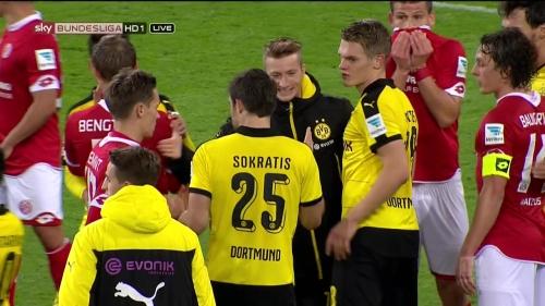 Matthias Ginter – Mainz v Dortmund 15
