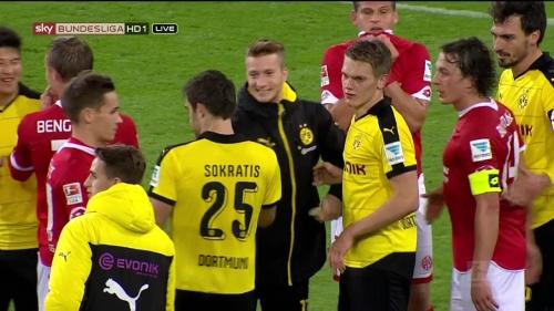Matthias Ginter – Mainz v Dortmund 16