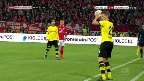 Matthias Ginter – Mainz v Dortmund 4