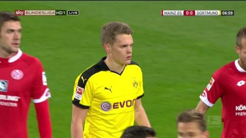 Matthias Ginter – Mainz v Dortmund 5