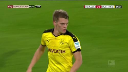Matthias Ginter – Mainz v Dortmund 7