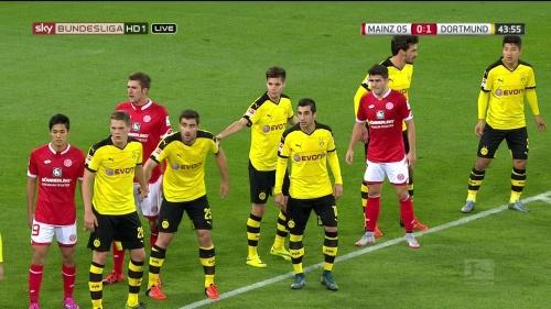 Matthias Ginter – Mainz v Dortmund 8