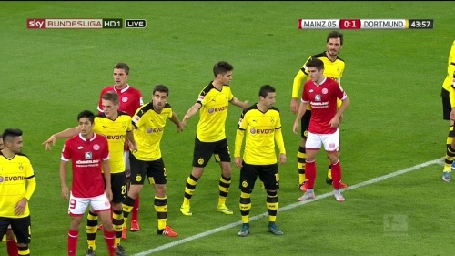 Matthias Ginter – Mainz v Dortmund 9
