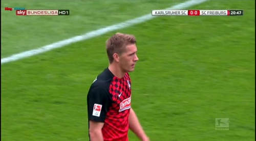 Nils Petersen – Karlsruher SC v SC Freiburg 2