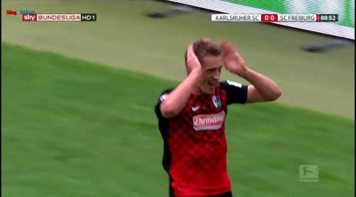 Nils Petersen – Karlsruher SC v SC Freiburg 5