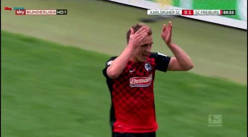Nils Petersen – Karlsruher SC v SC Freiburg 6