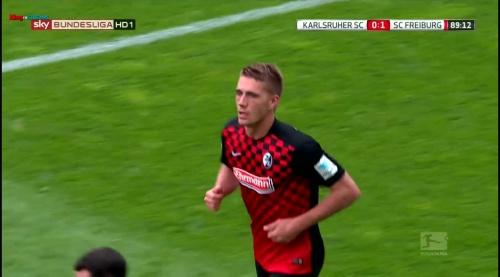 Nils Petersen – Karlsruher SC v SC Freiburg 7