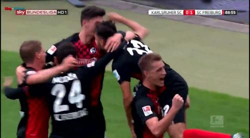 Nils Petersen & Vincenzo Grifo - Karlsruher SC v SC Freiburg 1