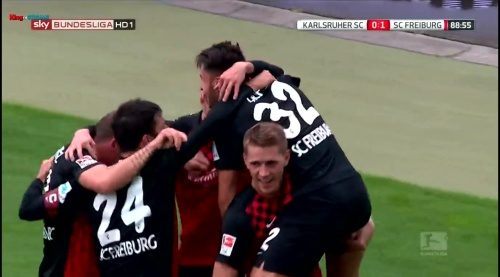 Nils Petersen & Vincenzo Grifo - Karlsruher SC v SC Freiburg 2