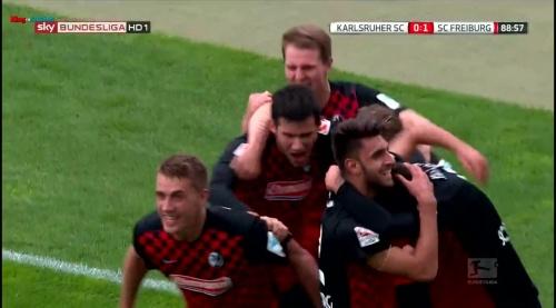 Nils Petersen & Vincenzo Grifo - Karlsruher SC v SC Freiburg 3