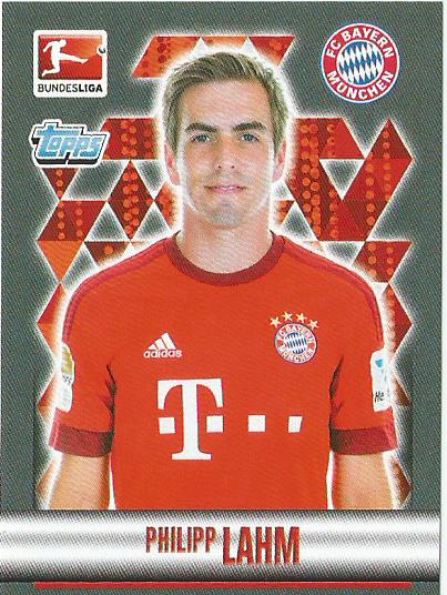 Philipp Lahm – Bayern München – Bundesliga 2015-16 sticker