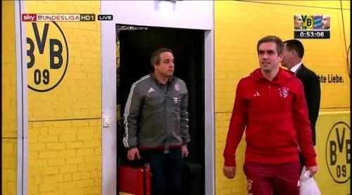 Philipp Lahm – Dortmund v Bayern 1